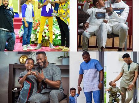 Exclusive Pictures Of John Dumelo, Majid Michel, Adjetey Anang And James Gardiner And Their Children