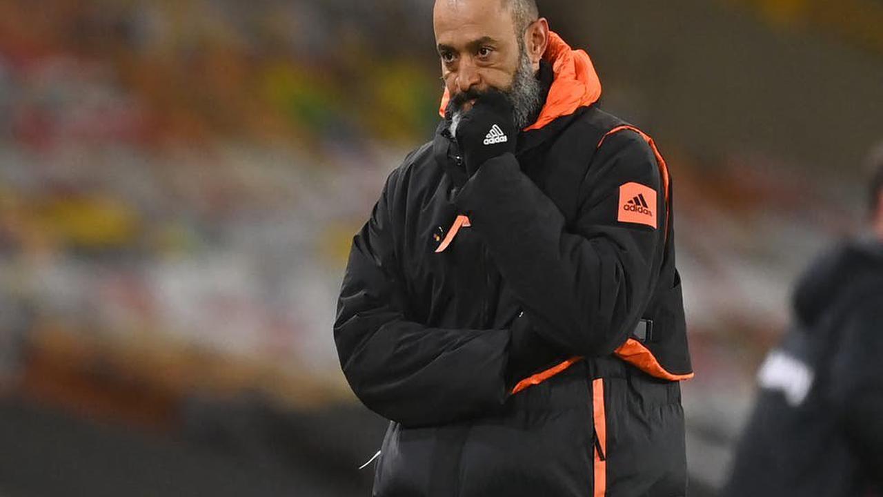 Wolves manager Nuno Espirito Santo 'hurt' by criticism over slump in Premier League form