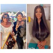 See Mercy Johnson's Reply after Destiny Praised Her For Coming to Her Father's Funeral (Photos)