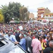 While Ruto Was In Meru Opening Primary School, Uhuru Was Doing This In Samburu County(Photos)