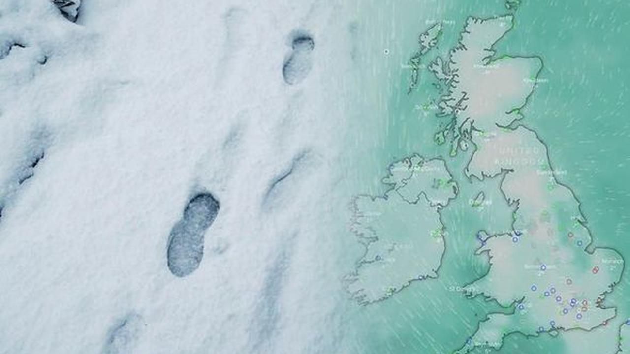 Snow forecast: What time will it snow across the UK? Where will it fall?