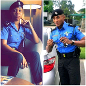These Two Police Officers Dressing Will Make You Want To Join Police Force(See Photos)
