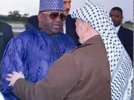 This is what happened immediately after Abacha bid farewell to Yasser Arafat, hours before his death