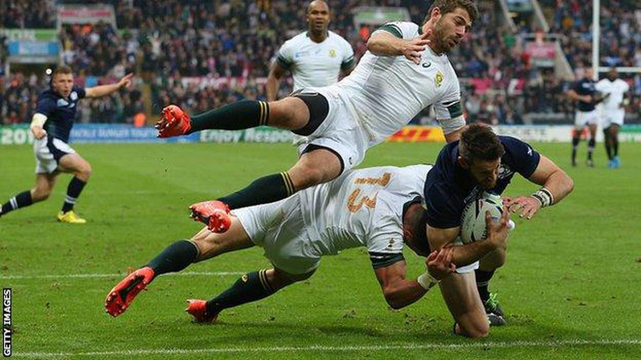 Rugby World Cup 2023: Scotland to play South Africa in their...
