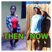 Reactions as lady shares her then and now photos 4 years after leaving Nigeria