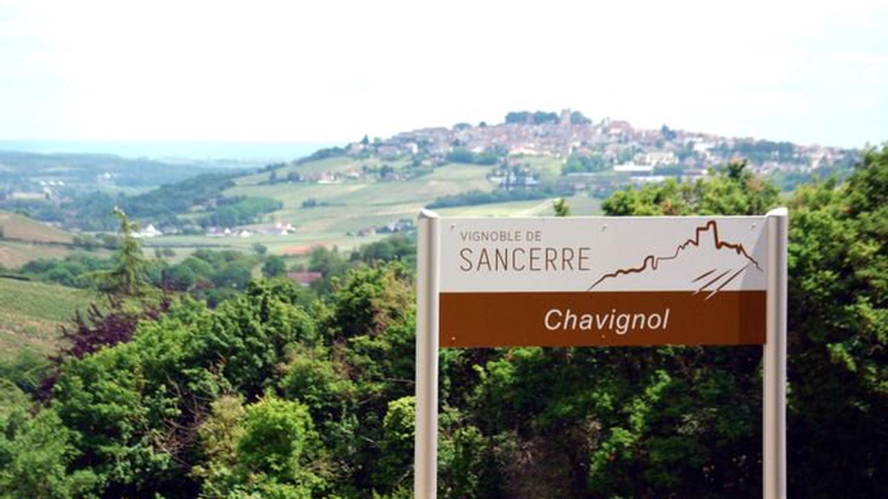 Signalétique touristique - Les villages de la zone d'appellation Sancerre soignent leur communication visuelle