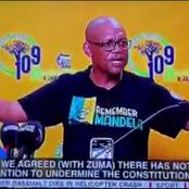 Watch| Drama On National TV As ANC Briefs The Media After Their Meeting With Zuma- Mzansi Reacts
