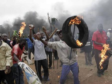 Panic in Rift Valley After LeafLets Are Scattered Odering Certain Tribes To Vacate