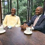 Irungu Kang'ata Gives Moses Kuria a Shoulder to Lean On As He Heads to Court