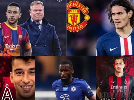 DEADLINE DAY: Barca Strike Depay Deal, Cavani Passes Man Utd Medicals, Rudiger to Milan & More News