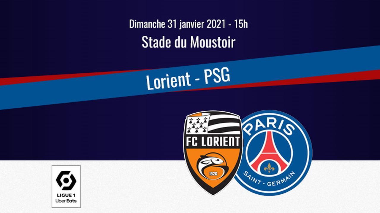 Comment regarder Lorient/PSG en streaming