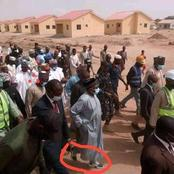 Bauchi Governor Sighted Wearing Sneakers With Kaftan Dress [Photos]