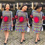 5 Impressive Ankara Short Gown Styles For Ladies