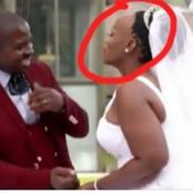 Woman turns into a laughing stock on her wedding day (see pictures)