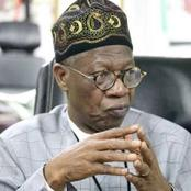 Nigerians Slam Lai Mohammed After He Said The Reason Why Twitter Chose Ghana Over Nigeria Its HQ