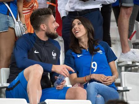Meet Olivier Giroud and his family as he celebrates his 34th birthday anniversary