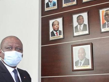 Nécrologie Hommage : la photo du Premier ministre Amadou Gon Coulibaly posée dans la galerie