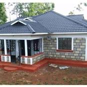 A Lady Shares Her Recently Built Two Bed Room House Whose Estimated Cost is 500k
