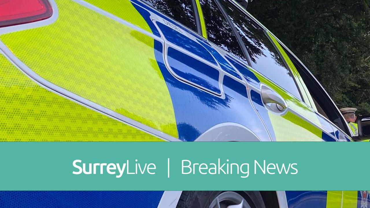 M23 closed in both directions due to police incident - live