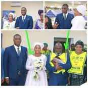 Pastor Lazarus Mouka's Second Son Tie The Knot; See Their Simple Wedding Photos