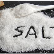 See what happened after I put salt under my pillow at night.