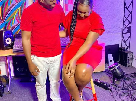 Huyo Ndio Valentines Wako? Betty Kyalo Sparks Questions After Matching Outfits With MC Jessy