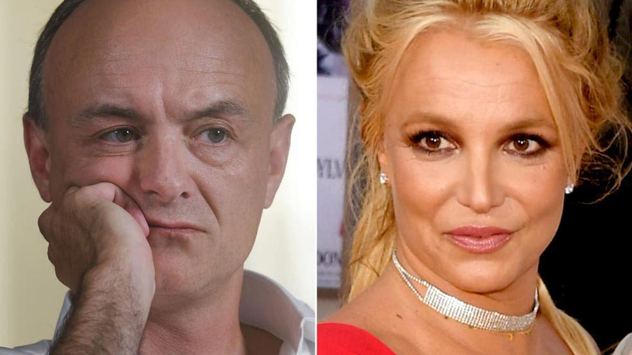 Dominic Cummings appears to join Free Britney movement