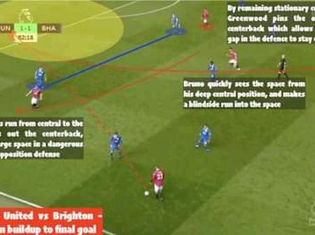How Man United Star Donny Van de Beek Had A Hand In Mason Greenwood's Winning Goal Against Brighton