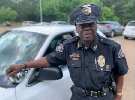 Meet The 91 Years Old Police Officer Who Has Refused To Retire