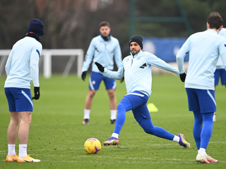 Photos: Chelsea Stars in training ahead of tie against Fulham on Saturday