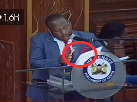 Things Get Darker For Governor Sonko After He Decided To Put On His Torch Claiming He Can't See