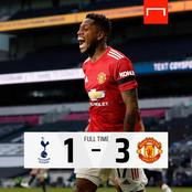 After Manchester United Won 3-1 Against Tottenham Hotspur, See Their Next 3 Fixtures In The EPL