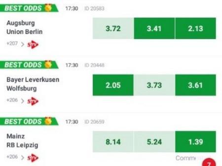 Saturday's well analyzed Bundesliga matches to win you big