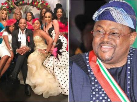 Meet The Lovely Family Of Mike Adenuga[Photos].