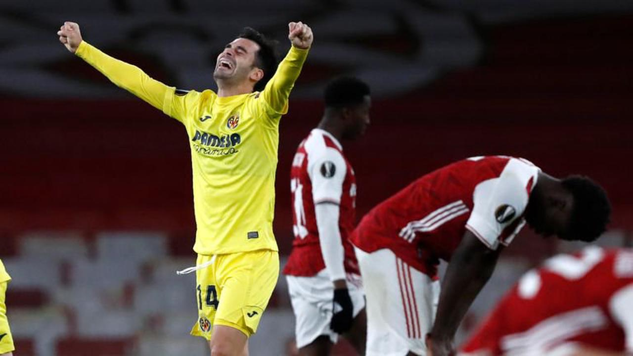 Arsenal 0-0 Villarreal (agg 1-2): Unai Emery's side will face Manchester United in Europa League final
