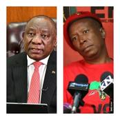 Julius Malema loses another battle as Ramaphosa moves to announce important decision on alcohol ban