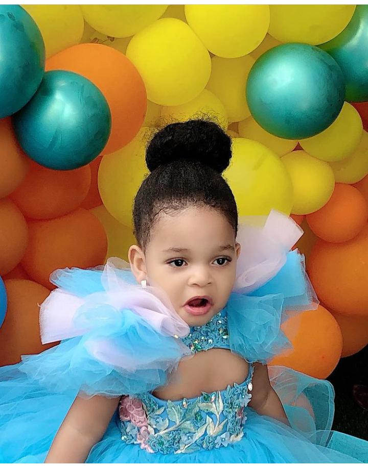 Between Browny's daughter Ugochalacha and Queen Okoye's daughter Oluchi, who is more adorable? 20