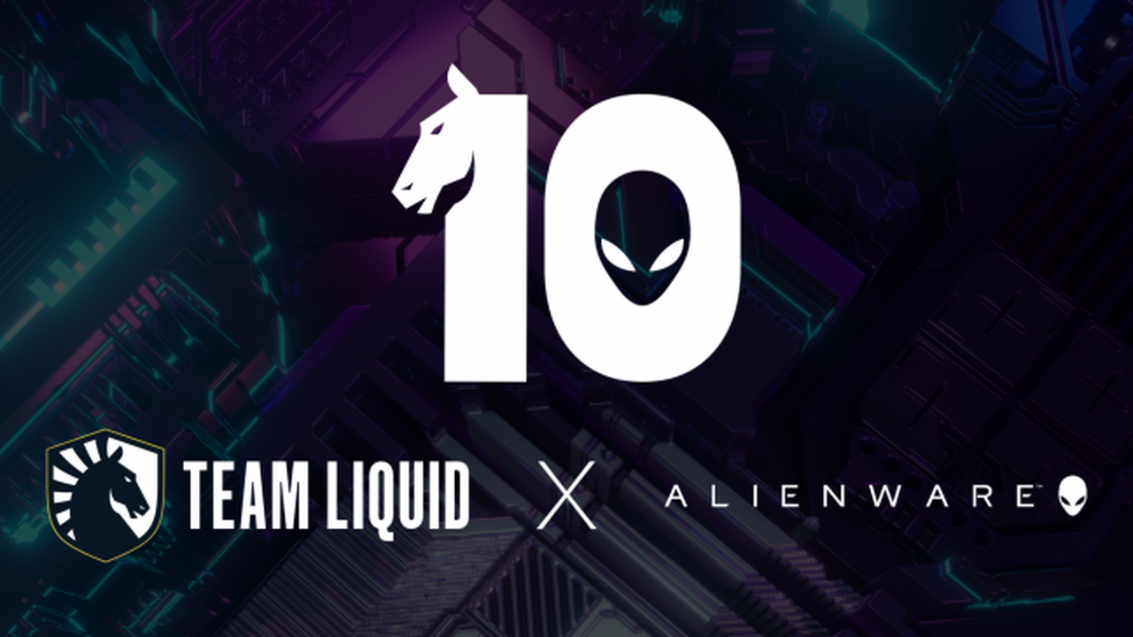 Team Liquid et Alienware prolongent leur partenariat