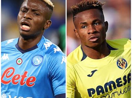How the Wonderful Players of Nigeria Super Eagle Stars Victor Osimhen & Samuel Chukwueze Succeded