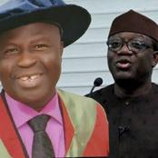 VC FUOYE: We will collaborate with Fayemi on food security in Ekiti (PHOTOS)