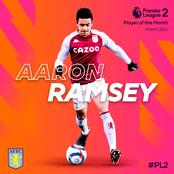 Aaron Ramsey wins Premier League2 Player of the Month for Match