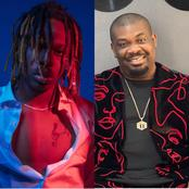 Checkout What Don Jazzy Wrote About Fireboy Moment After He Releases A New Music Video On Instagram