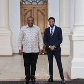 Haji's Sons Meets President Uhuru at Statehouse