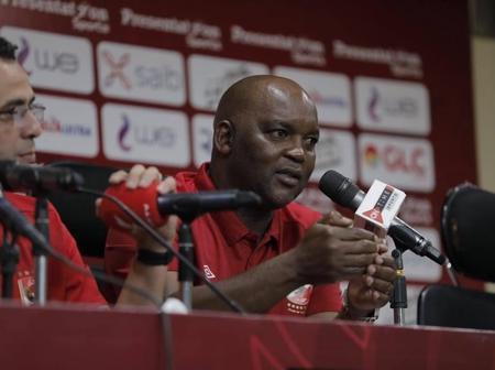 Did Pitso Mosimane warn his former team Mamelodi Sundowns?