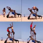 See Breathtaking Thing Boys Were Doing At The Beach That Got Reactions