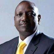 Deputy President William Ruto Suffers a Major Setback