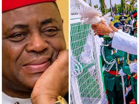 After The White Pigeons Released By President Buhari Refused To Fly, Check Out What Fani-Kayode Said