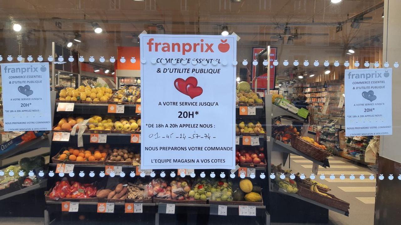 Des magasins Franprix ouverts après 18h en toute illégalité