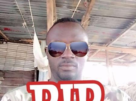 SAD: See more Photos of the Nigerian Soldier who committed suicide by shooting himself in the head
