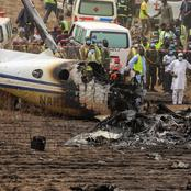 The NAF aircraft that crashed in Abuja on Sunday. See how old the aircraft is